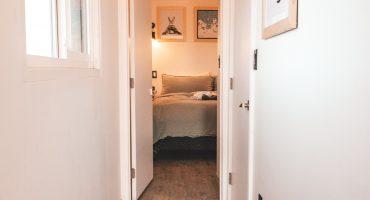 laminate flooring in hallway